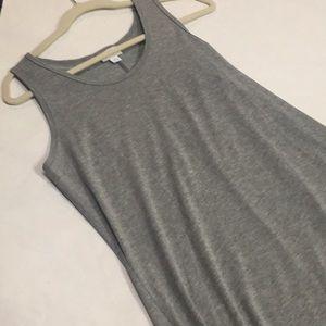 New with tags Large Lularoe Dani dress. Grey